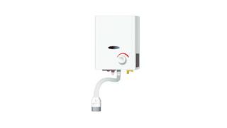 不完全燃焼防止装置付き小型湯沸器