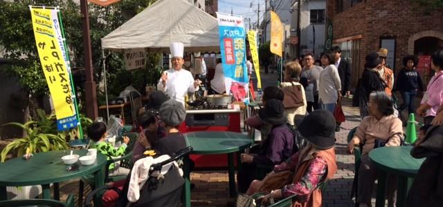 大街市祭にて『秋のLPガス通り』を開催しました。